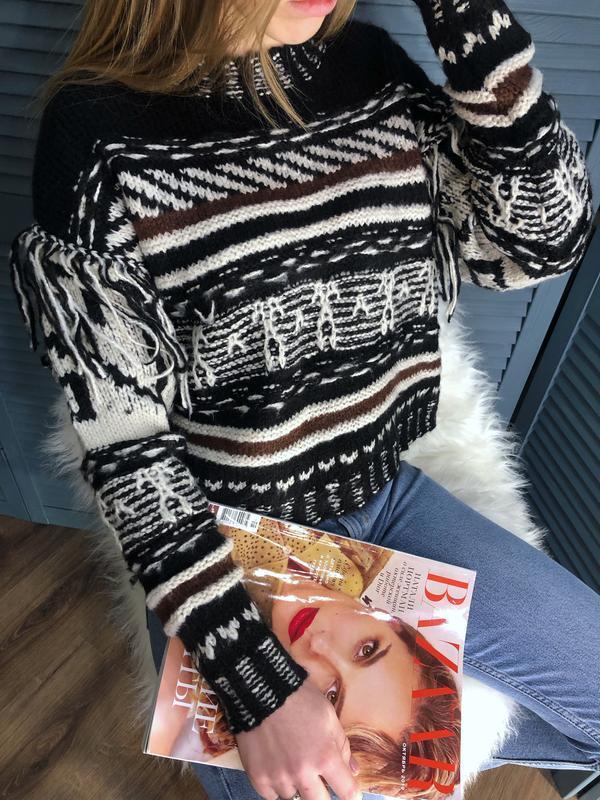 Жаккардовый свитер от pull&bear