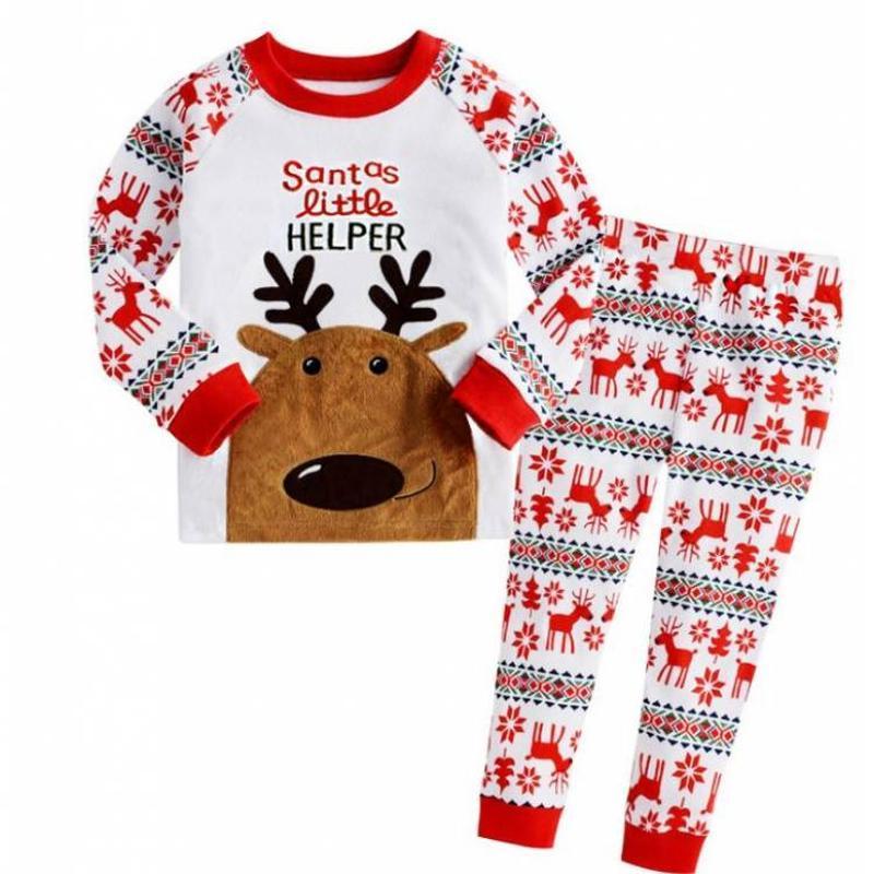 Пижама новогодняя с оленем