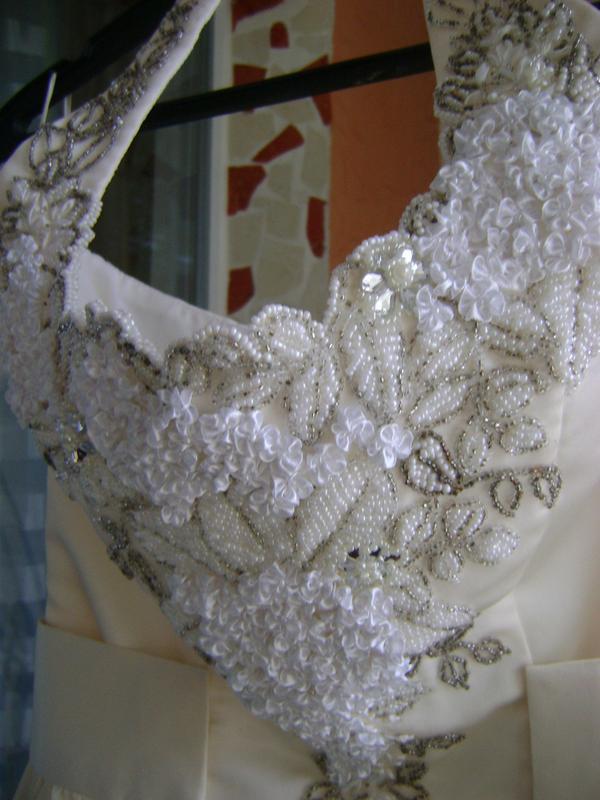 Платье свадебное, вечернее. - Фото 4