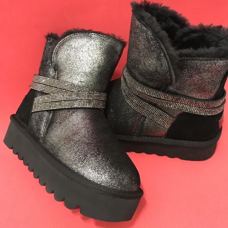 Угги ugg женские натуральные зимние ботинки сапоги