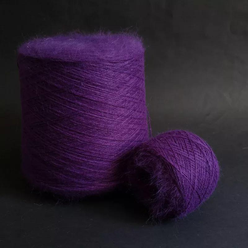 Пряжа Biagioli Modesto 80% ангора 20% ПА фиолетовый 850 м/100