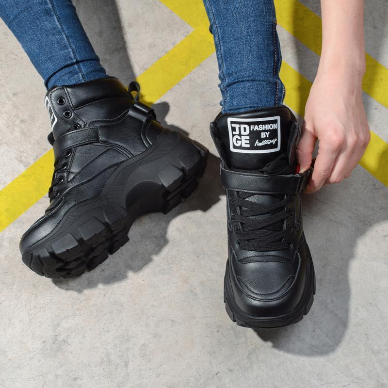 Шикарные теплые зимние ботинки