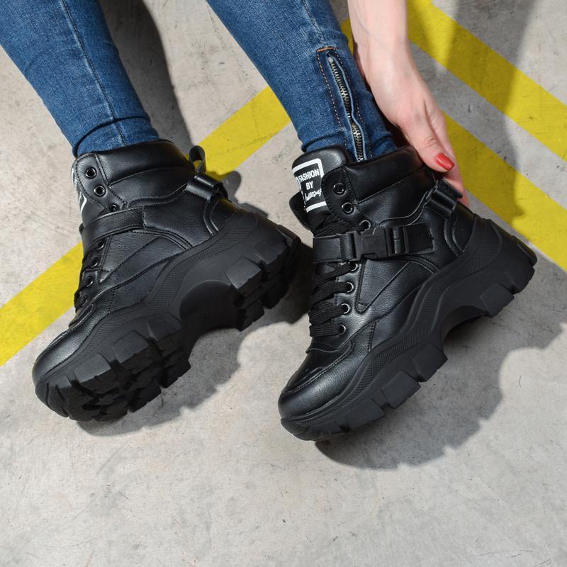 Шикарные теплые зимние ботинки - Фото 2