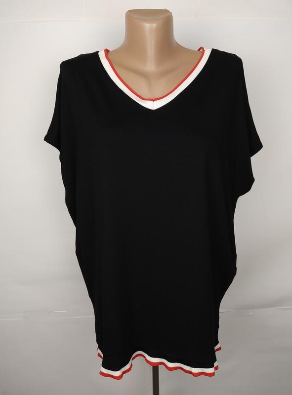 Блуза футболка трикотажная стмльная f&f uk 10/38/s