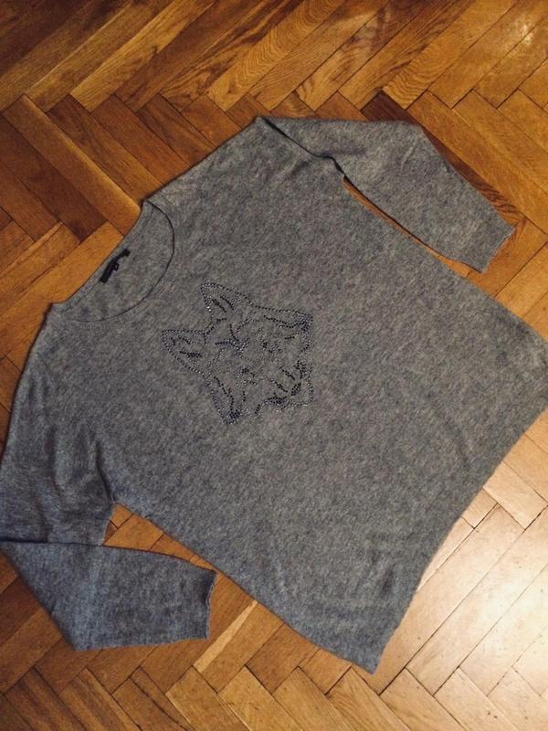 Стильный джемпер,половер,свитер от бренда clarina