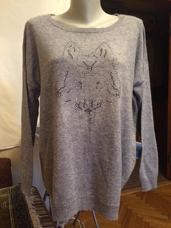 Стильный джемпер,половер,свитер от бренда clarina - Фото 2