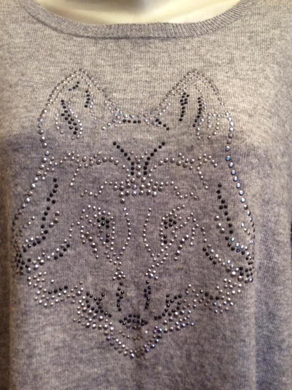 Стильный джемпер,половер,свитер от бренда clarina - Фото 3