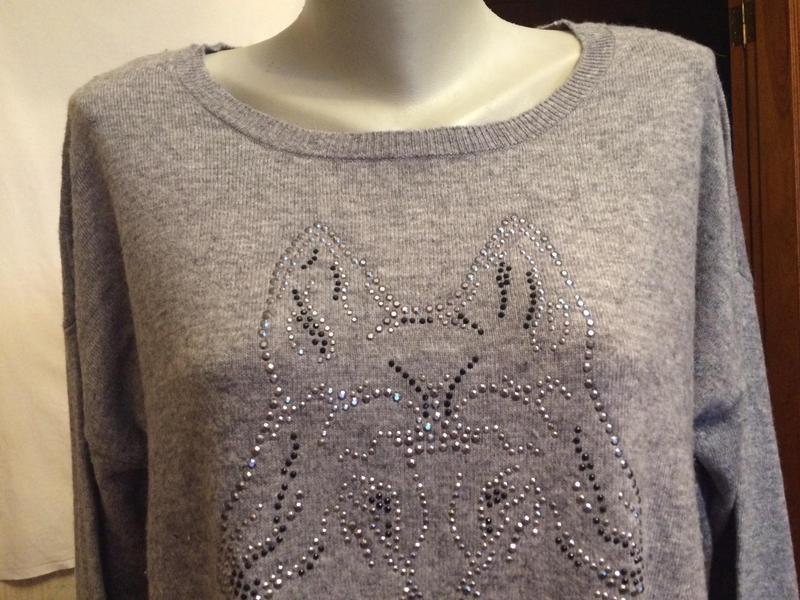 Стильный джемпер,половер,свитер от бренда clarina - Фото 4