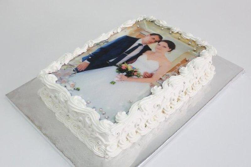 Вафельная бумага  для печати вафельных  картинок и фото на торт - Фото 2