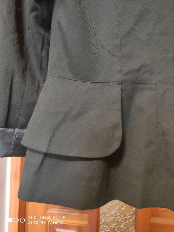 Жакет, пиджак с баской next 42-44 - Фото 7