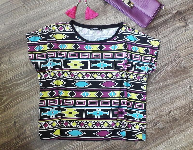 Стильная футболка terranova  м