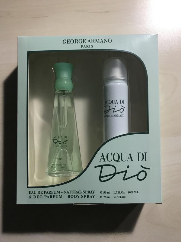 Подарочный набор для женщин Top Parfum PARIS ACQUA DI Dio - Фото 2