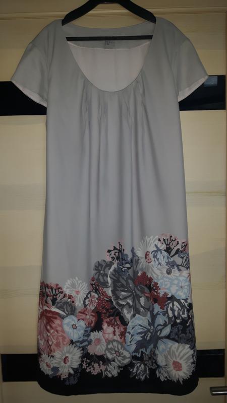 Легкое шифоновое платье h&m