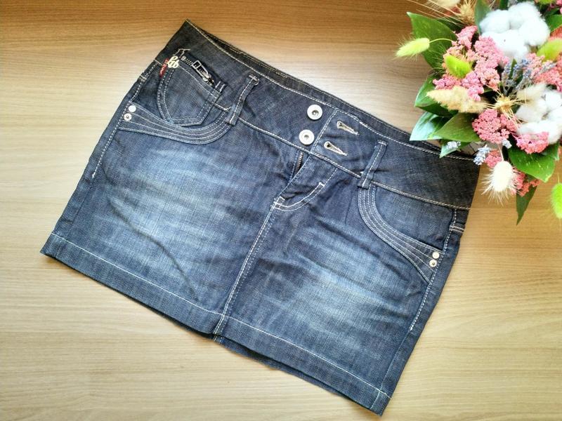 Короткая джинсовая юбка ltb