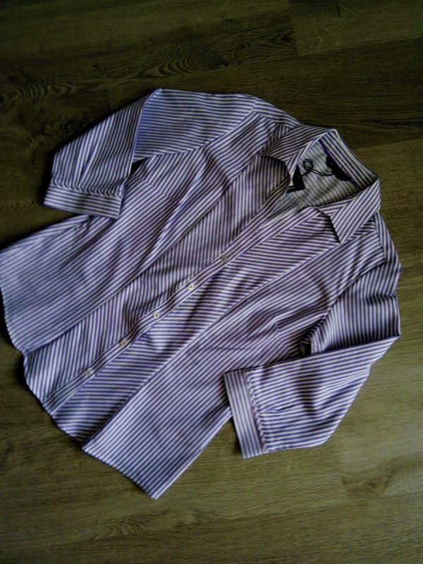 Базовая рубашка в полоску  marks & spencer