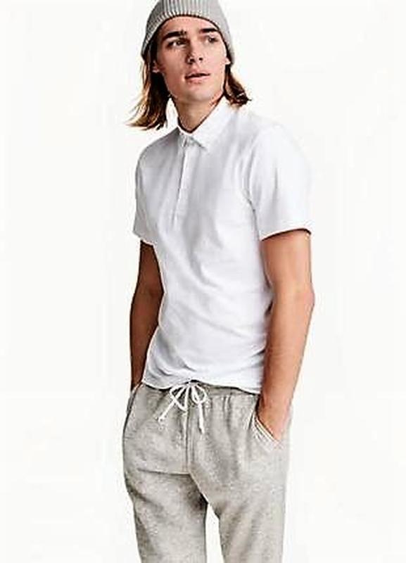 Белая  тенниска- поло-футболка британской компании trutex s-m