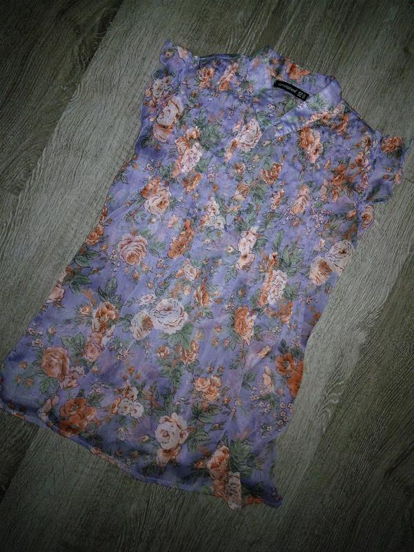 Невероятно красивая женственная блуза в цветочный принт от atm...