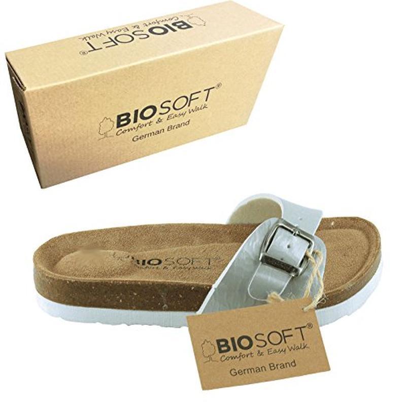Стильные комфортные ортопидеские шлёпанцы-сандалии от bio soft...