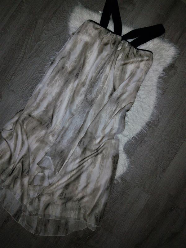 😍струящиеся платье-сарафан на чёрных лямках💣