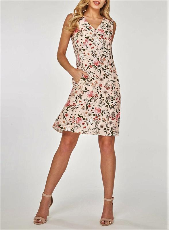 Невероятное😍 женственное  расклешенное платье миди с цветочным...