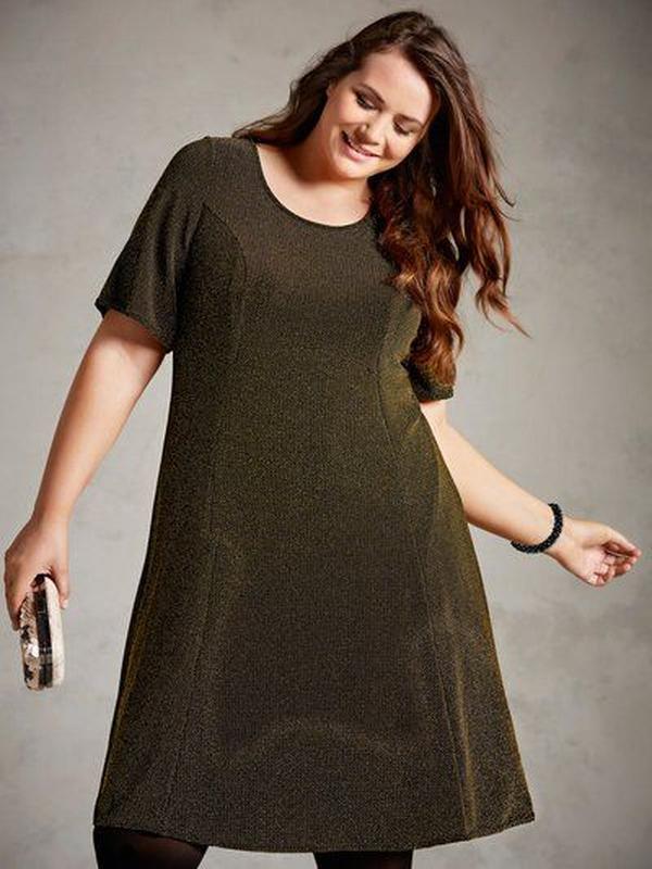 Мега крутое блестящее сверкающее платье миди люрекс 😱😍