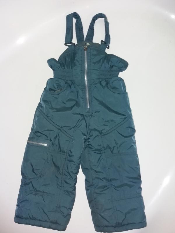 Полукомбинезон теплый зима для мальчика donilo детский размер 86