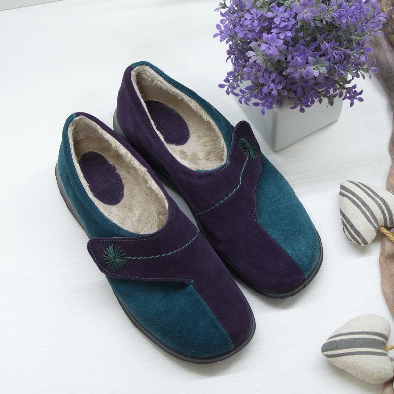 Комфортные туфли hotter, натуральная кожа