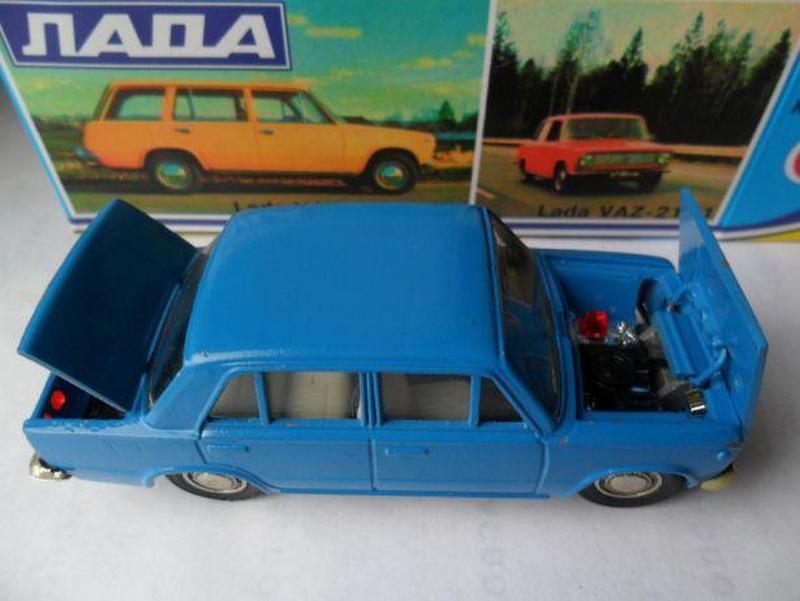 Модель автомобиля СССР ВАЗ 2101 Жигули 1:43 - Фото 2