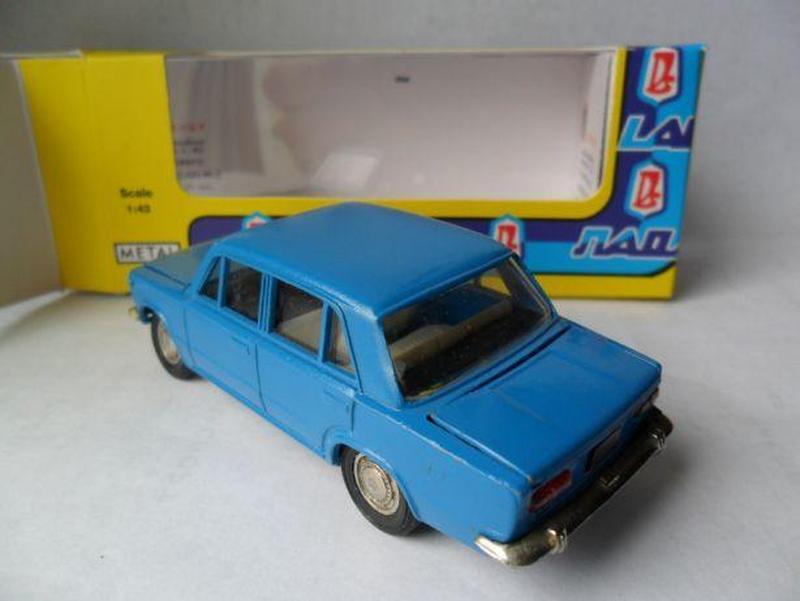 Модель автомобиля СССР ВАЗ 2101 Жигули 1:43 - Фото 5