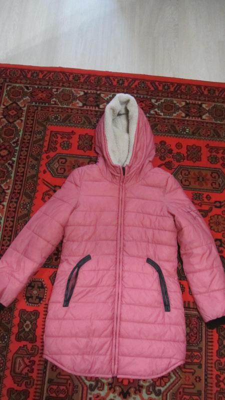 Пальто демисезонное (до -10 градусов) для девочки 9-11 лет! Сумы!