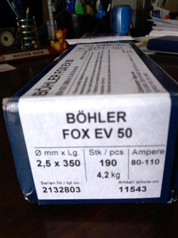 Электроды сварочные  BOHLER , Австрия - Фото 2