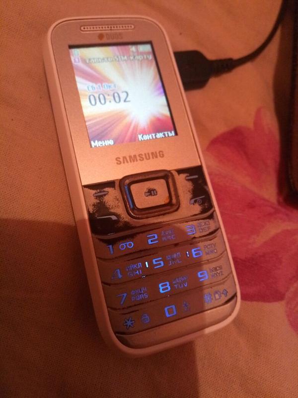 Телефон Samsung рабочий