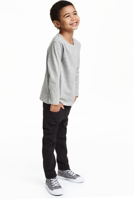 ❄распродажа!❄ джинсы черные slim fit от h&m размер 92