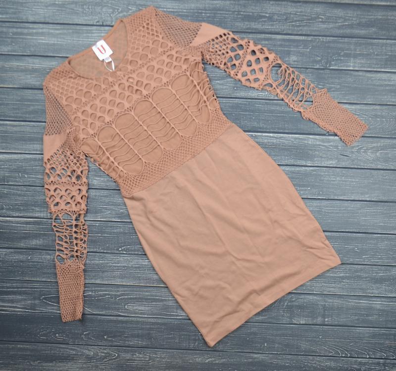 ❄распродажа!❄  платье с топом сеткой размер м