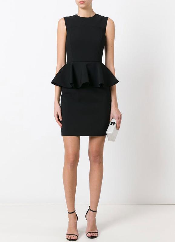 ❄распродажа!❄ красивое мини платье с баской