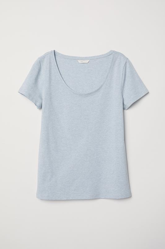 ❄распродажа!❄  базовая оливковая футболка от h&m