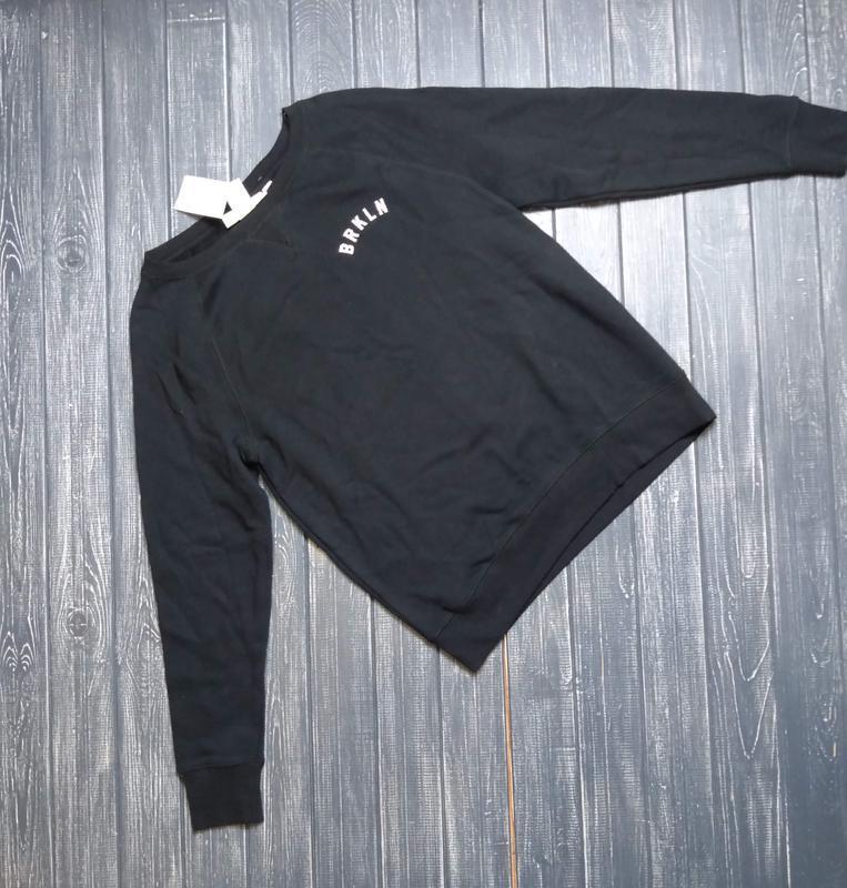 ❄распродажа!❄ тонкий хлопковый свитшот, свитер от h&m