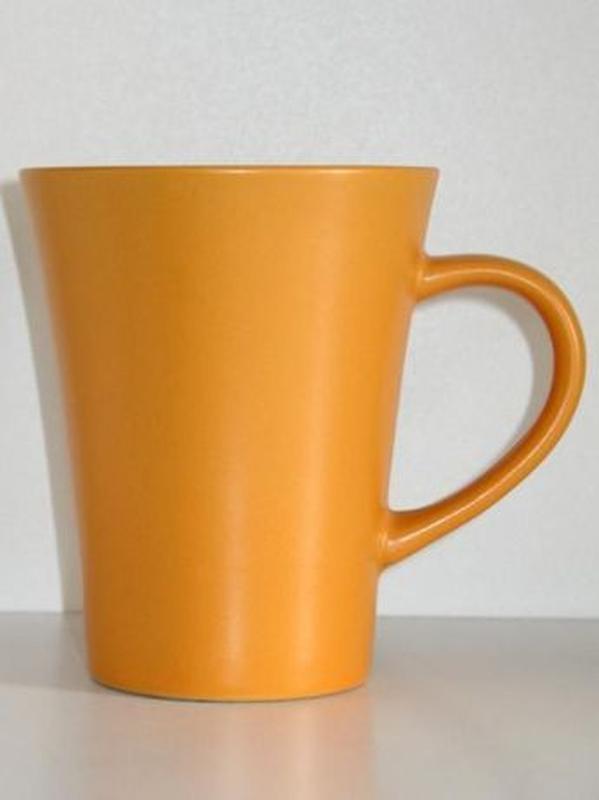 Чайная керамическая чашка 300 мл. кофейная кружка посуда керамика