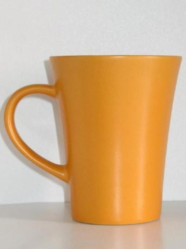 Чайная керамическая чашка 300 мл. кофейная кружка посуда керамика - Фото 2