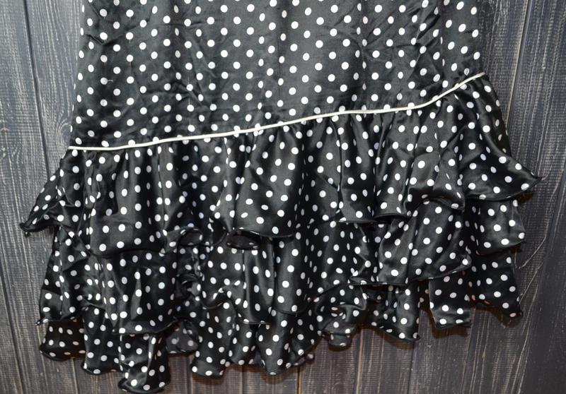 Платье в горох в стиле pin up, стиляги rock&religion размер 14uk - Фото 3