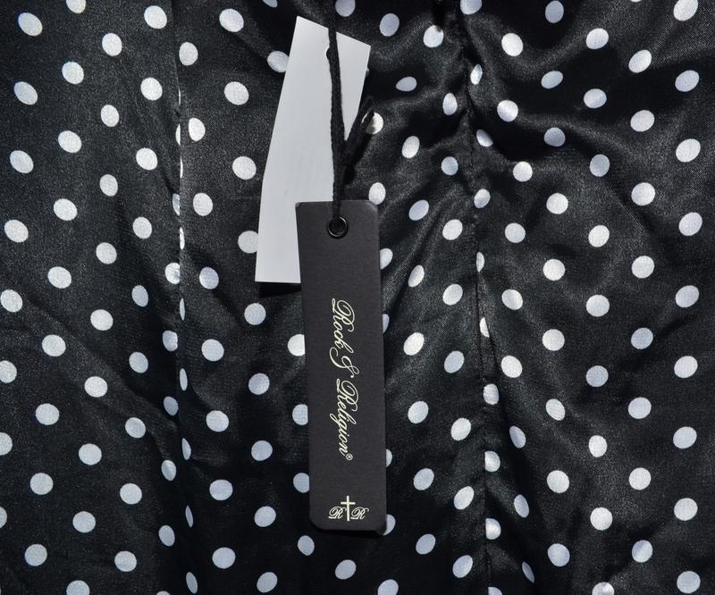 Платье в горох в стиле pin up, стиляги rock&religion размер 14uk - Фото 4