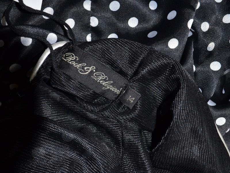 Платье в горох в стиле pin up, стиляги rock&religion размер 14uk - Фото 6