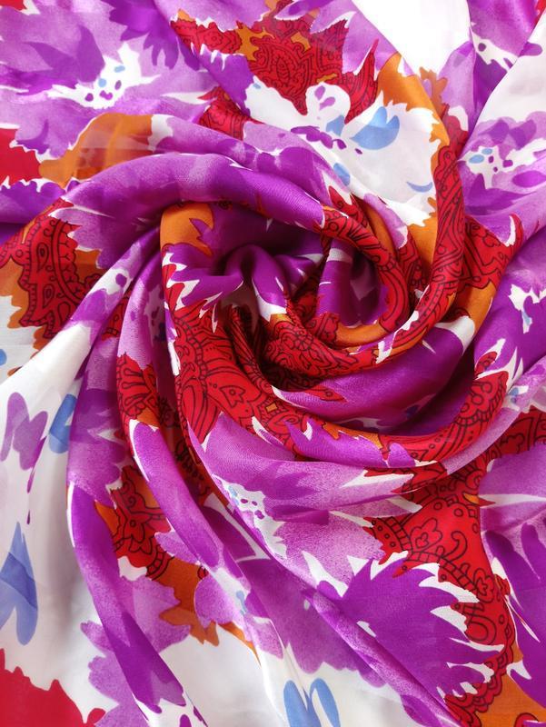 Большой шарф платок палантин lanvin