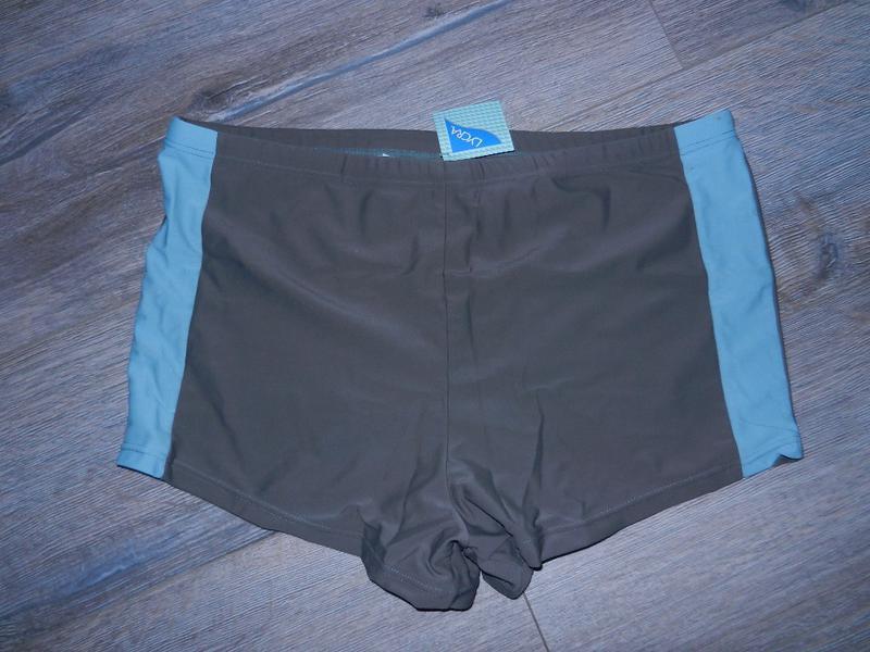 Xxl/52-54 германия! стильные серые плавки шорты