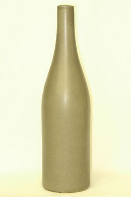 Ваза для цветов бутылка керамическая вазочка сувенир декор под...