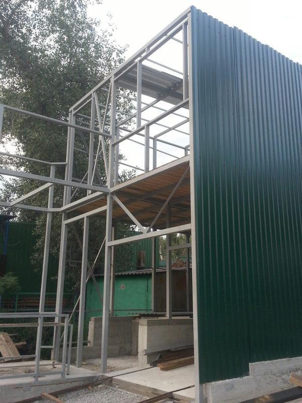 Производство Навесы ангары козырьки лестницы металлоконструкции в - Фото 5