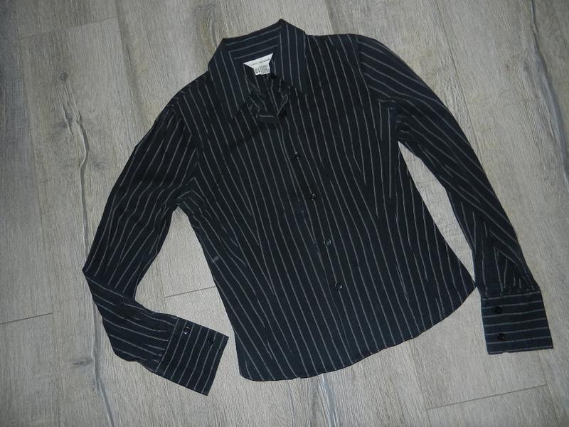 *zara woman*черная блузка,рубашка в полоску