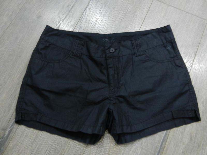 Bonobo,франция!оригинал!черные стильные легкие шорты,хлопок