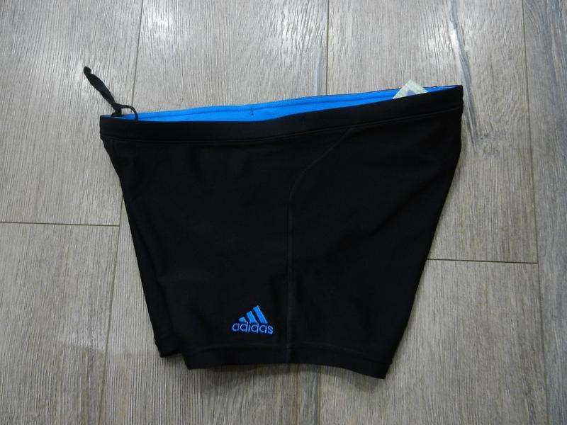 Adidas,оригинал s,m, черные плавки шорты,новые - Фото 2