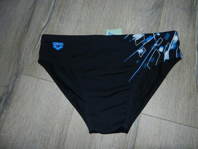 Xxl/54-56 arena,оригинал темно синие хлоростойкие плавки новые